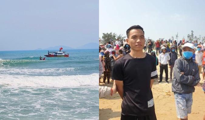 Khu vực biển anh Tròn cứu sống được 3 em học sinh.
