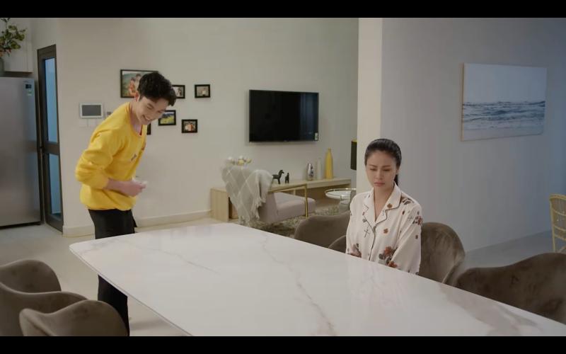 'Hướng dương ngược nắng' trailer tập 36: Bị Kiên cười chế giễu chuyện có thai với Vỹ, Châu tuyên bố 'đến cả cái tát anh cũng không xứng nữa' 4