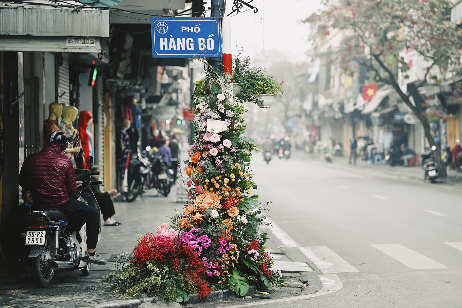 Spotlight ngày 8/3: Hàng loạt cột đèn ở Hà Nội 'nở hoa' khiến dân tình xỉu dọc, xỉu ngang 1