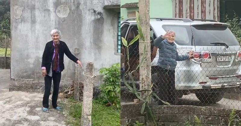 Clip mẹ già 103 tuổi ra tiễn con gái 80 tuổi, nghẹn ngào nói: 'Lần này nữa thôi, lần sau về không còn mẹ' 0