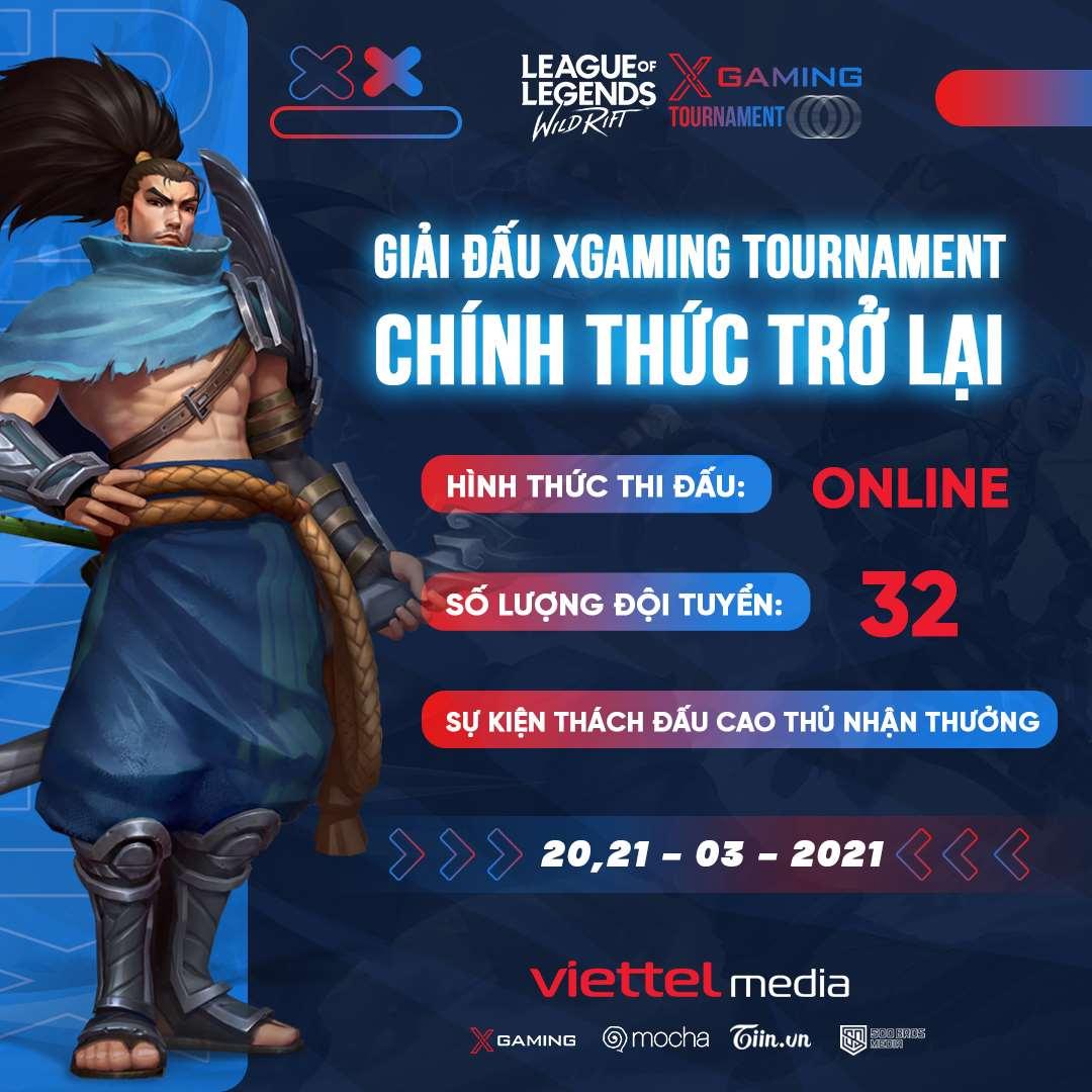 XGAMING TOURNAMENT trở lại với thể thức online, nhiều cơ hội hơn cho các đội tuyển tham dự 1