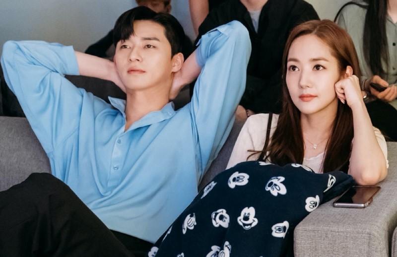 HOT: Cặp đôi 'Thư ký Kim' Park Seo Joon và Park Min Young lộ bằng chứng hẹn hò 0