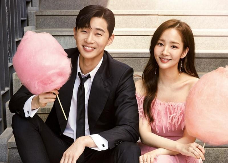 HOT: Cặp đôi 'Thư ký Kim' Park Seo Joon và Park Min Young lộ bằng chứng hẹn hò 7