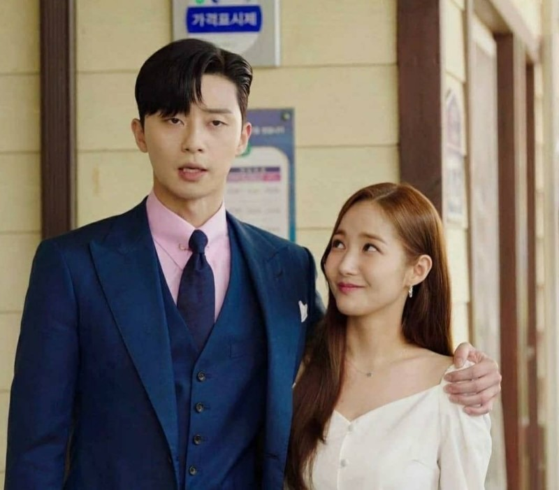 HOT: Cặp đôi 'Thư ký Kim' Park Seo Joon và Park Min Young lộ bằng chứng hẹn hò 6