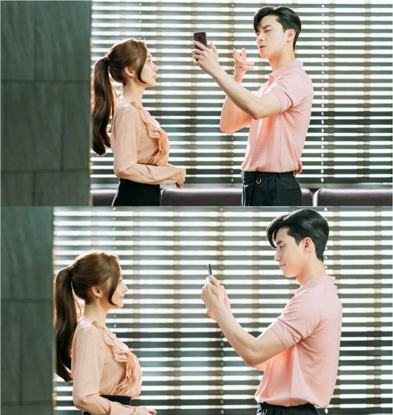 HOT: Cặp đôi 'Thư ký Kim' Park Seo Joon và Park Min Young lộ bằng chứng hẹn hò 8