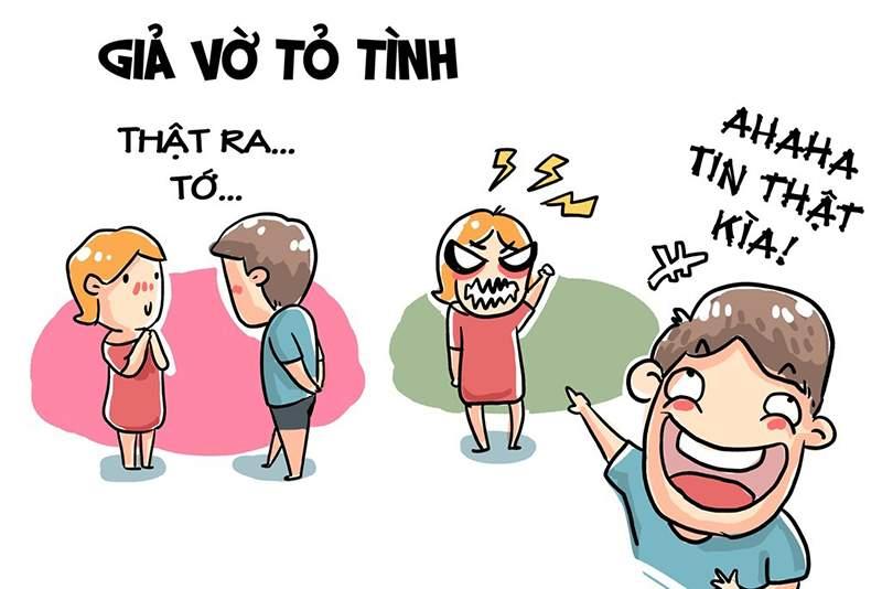 Nhiều bạn trẻ ở Việt Nam thường tỏ tình trong ngày Cá tháng Tư.