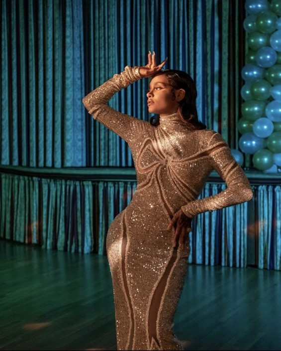 Nữ ca sĩ R&B Kehlani trong trang phục thương hiệu CONG TRI xuất hiện trên tạp chí Playboy.