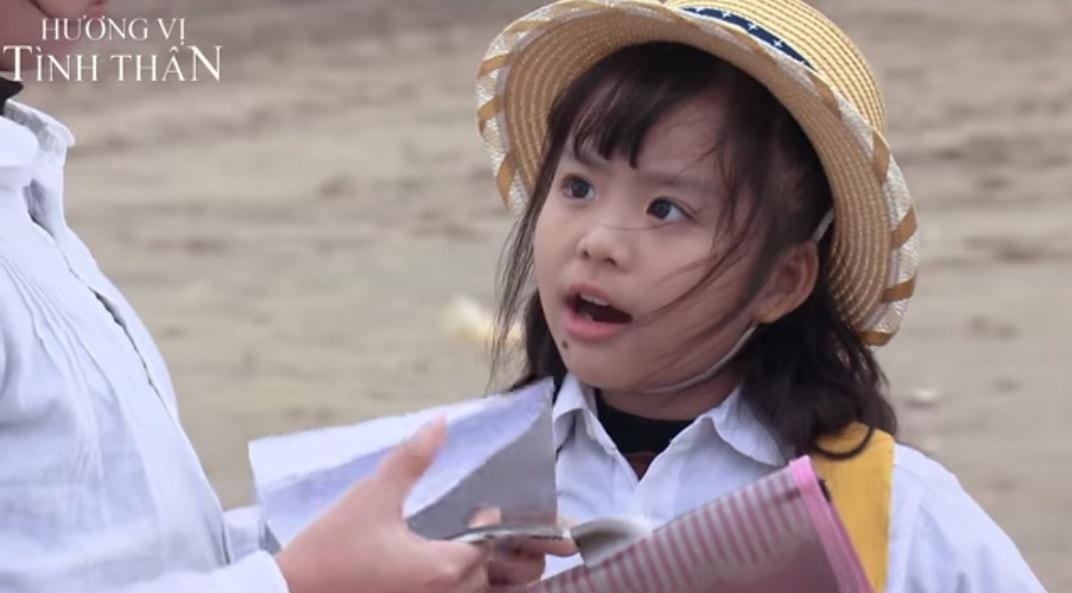 Hà Anh và Phụng Nghi trong vai Phương Nam vàDiệp lúc nhỏ