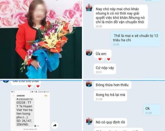 Kỷ luật cảnh cáo nữ y tá bị tố vòi tiền chữa trị bệnh nhân mắc Covid-19 ở Bắc Giang 0