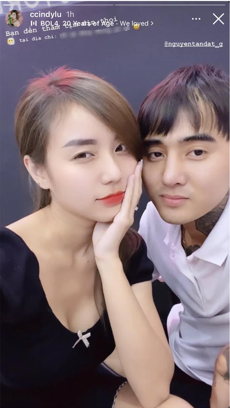 Cindy Lư cùng Đạt G chính thức dắt tay nhau đi lên đường đua phát 'cẩu lương'