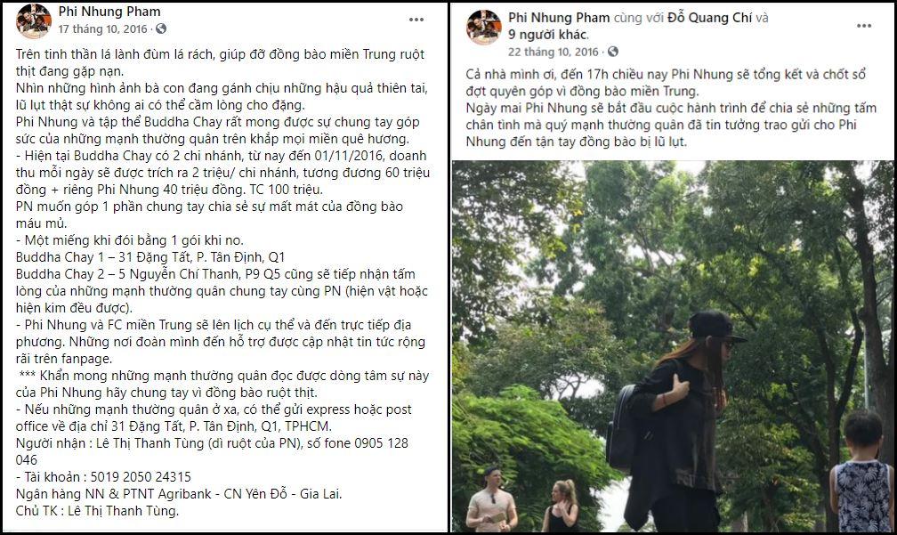 Sau Hoài Linh, đến lượt Phi Nhung bị dân mạng thắc mắc vì sao kê từ thiện 'trễ hẹn' hơn 5 năm 1