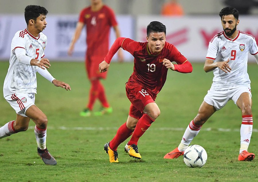Việt Namlọt vàovòng loại thứ 3 khu vực châu Á World Cup 2022.