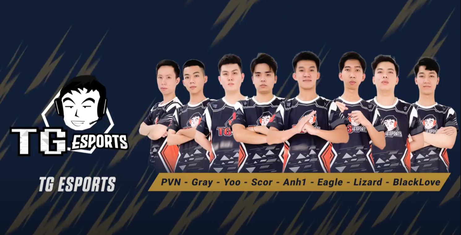 Đội hình TG Esports.