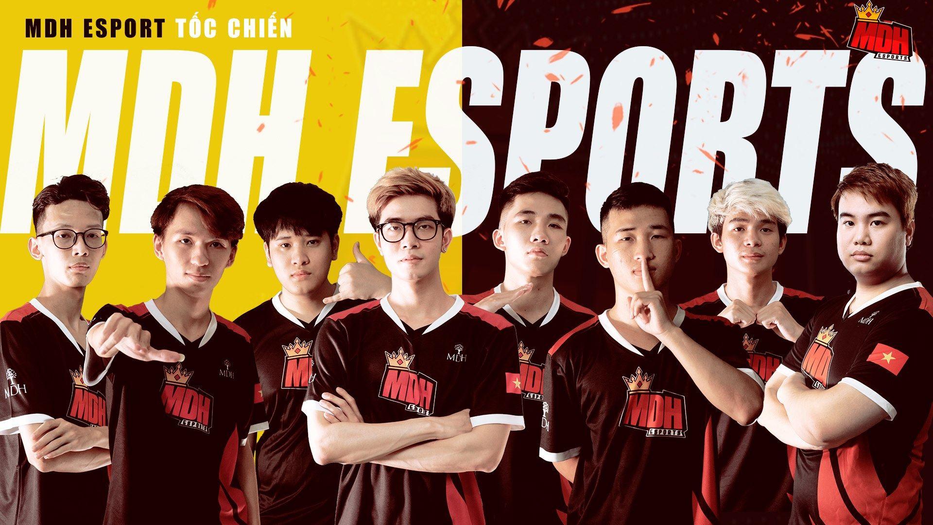 Đội hình MDH Esports.