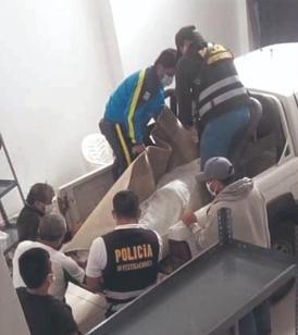 Hiện trường thương tâm của vụ việc khi cảnh sát đến