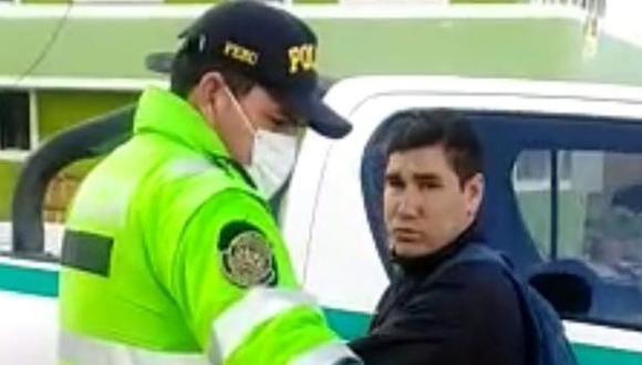 Elmer Lucano bị cảnh sát bắt giữ