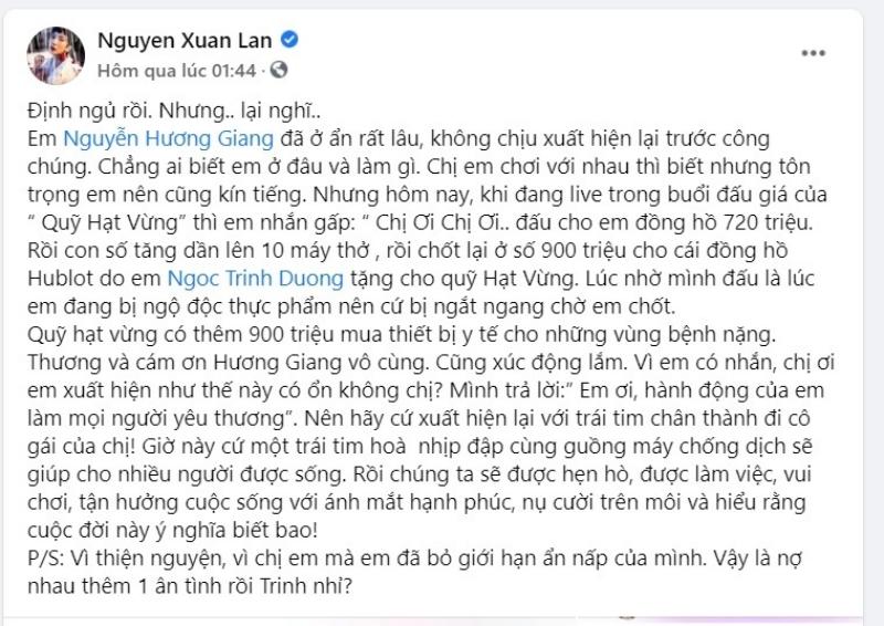 Bị mang tiếng 'cướp công', cách Hương Giang sử dụng chiếc đồng hồ đấu giá 900 triệu từ BTV Ngọc Trinh gây ngỡ ngàng 2