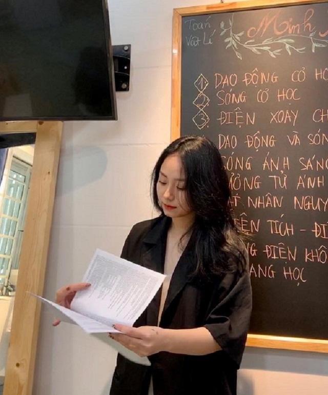 Cô giáo Minh Thu.