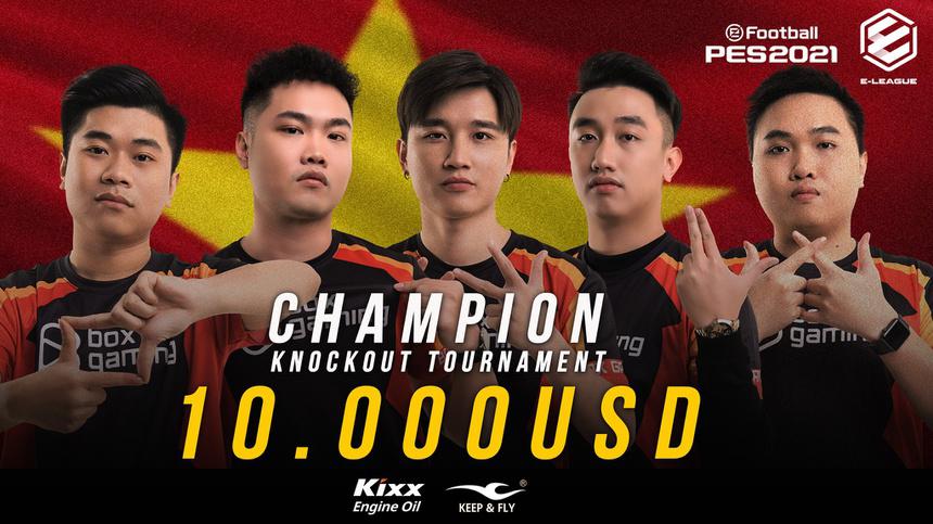 BOX Gaming giành 2 chức vô địch ở Thái Lan trong mùa giải E-League FA Cup Thailand.
