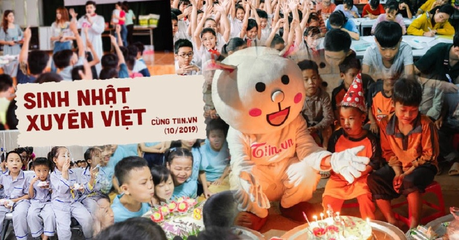 Chương trình Sinh nhật xuyên Việt cùng Tiin.vn ở 8 điểm cầu khắp đất nước.