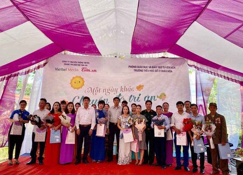 Một ngày khác - Chuyến đò tri ân trường THCS số 2 Châu Hóa (Quảng Bình).