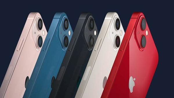 5 màu sắc của iPhone 13