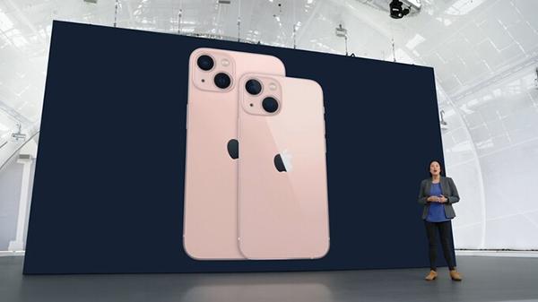 Màu hồng mới của iPhone 13