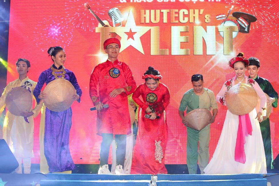 Sân chơi HUTECH's Talent - bệ phóng cho nhiều sinh viên có năng khiếu nghệ thuật