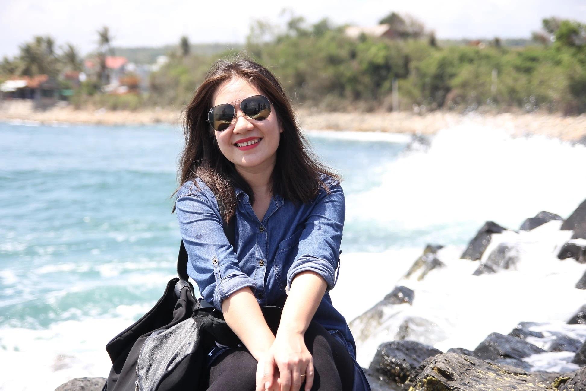 Biên kịch Trịnh Khánh Hà.