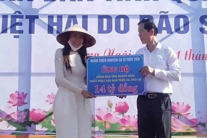 Tỉnh Quảng Ngãi nói gì về số tiền 14 tỷ làm từ thiện của vợ chồng Thủy Tiên tại địa phương này? 1