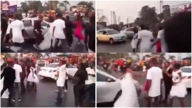 Đang tới nhà thờ, cô dâu bất ngờ phát hiện chú rể ngoại tình, kẻ thứ 3 cũng có mặt ở đám cưới 1