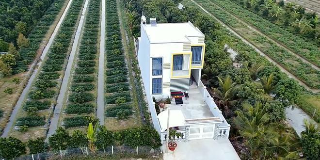 Cận cảnh nhà mới xây của Hoài Lâm tại Vĩnh Long, cách nhà vợ Vân Quang Long 400 mét 4
