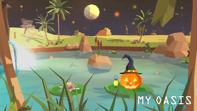 Thậm chí, bạn còn có thể điều khiển hệ thống thời tiết, ngày đêm để quan sát những hoạt động sống thú vị của các hòn đảo