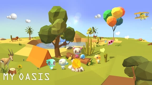 Lựa chọn tông màu Pastel nhẹ nhàng, từng thiết kế của My Oasis đều nhằm mục đích tạo cảm giác thoải mái, thư thái nhất tới các người chơi