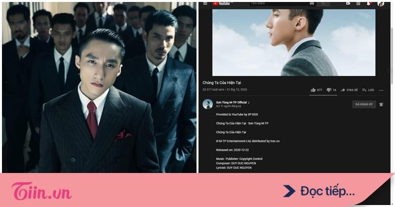 Ca khúc 'Chúng ta của hiện tại' bất ngờ ghi nhận tác giả không phải Sơn Tùng M-TP, sự thật là gì?